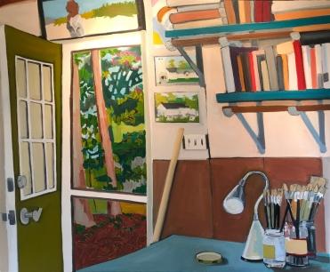studio door